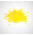 Abstract background with yellow paint splashes vector | Price: 1 Credit (USD $1)