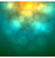 Abstract colorful bokeh background vector image vector image