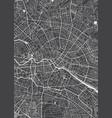 berlin city plan detailed map vector image