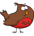 brown bird vector image