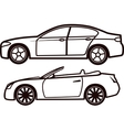 Car collection vector image vector image
