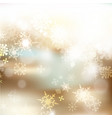 christmas blurred background for design vector image