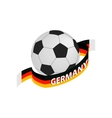 Football team germany isometric 3d icon vector image vector image