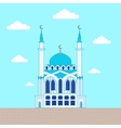 Mosque Flat design building poster template vector image vector image