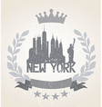 New York City Icon vector image vector image