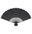 oriental fan vector image vector image