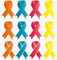 ribbon symbol vector image