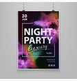 stock night party luxury vector image
