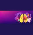 stroke concept banner header vector image vector image