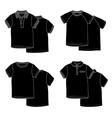 T-shirtsBlack vector image
