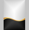 black and white abstract textured background vector image vector image