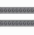 black tire tracks vector image