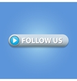 Follow Us Button vector image vector image