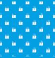 hair skin pattern seamless blue vector image