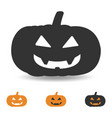 halloween pumpkin for party and vector image vector image