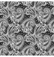 Paisley seamless lace pattern vector image vector image