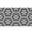retro lace flower flat herbal seamless pattern vector image vector image