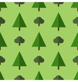 Seamless trees pattern vector image vector image