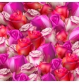 Abstract background of flowers EPS 10 vector image vector image