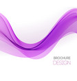 abstract background with purple smooth vector image vector image