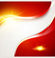 abstract bright template vector image