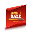 big summer sale loading poster vector image vector image