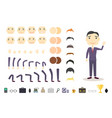 Businessman character creation set build your own