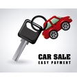 buy a car vector image vector image