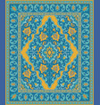 colorful template for carpet vector image vector image