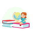 back to school education and knowledge concept vector image vector image