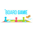 board game field space logical table game vector image