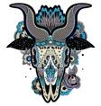 Cool Goat Skull vector image vector image