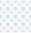 geometric blue and beige seamless pattern vector image vector image