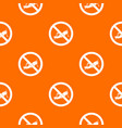 no locust sign pattern seamless vector image vector image