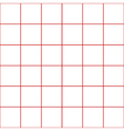 Red Grid White Background vector image vector image