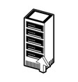 storage servers technology vector image vector image