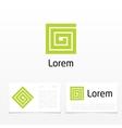 symbol of letter g vector image