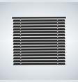 window sun blind brown vector image