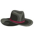 A grey hat vector image vector image