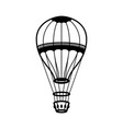 air balloon on white background design element vector image vector image