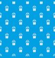 bag design pattern seamless blue vector image