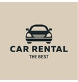 Best car Rent logo icon strong vector image vector image