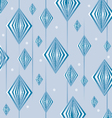 blue retro background vector image vector image