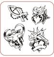 christian symbols vector image vector image