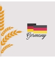 germany flag isolated icon vector image