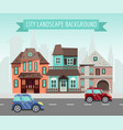 house rent banner home selection building vector image