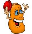 Orange Bottle vector image vector image