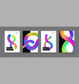 stock liquid color shapes for vector image vector image