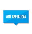 vote republican price tag vector image vector image