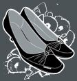 women's shoes vector image vector image